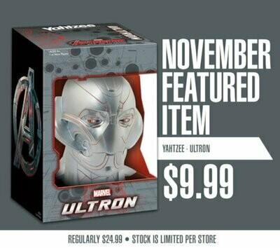 Marvel Ultron Yahtzee