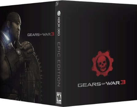Gears of War 3 EPIC Edition - XBOX 360 - New