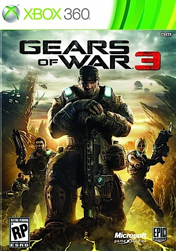 Gears of War 3 - XBOX 360 - New
