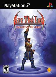 Arc the Lad: Twilight of the Spirits - PS2 - Used