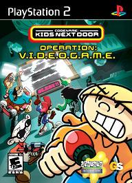 Codename: Kids Next Door - Operation: V.I.D.E.O.G.A.M.E. - PS2 - Used