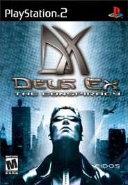 Deus Ex: The Conspiracy - PS2 - Used