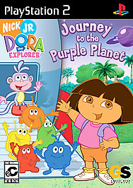 Dora the Explorer: Journey to the Purple Planet - PS2 - Used
