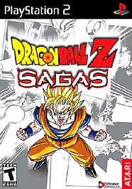 Dragon Ball Z: Sagas - PS2 - Used