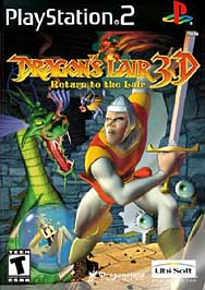 Dragons Lair 3-D - PS2 - Used