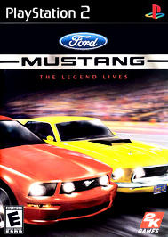 Ford Mustang: The Legend Lives - PS2 - Used