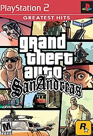 Grand Theft Auto: San Andreas (Greatest Hits) - PS2 - Used