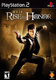 Jet Li: Rise to Honor - PS2 - Used