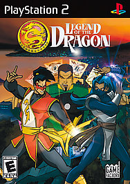Legend of the Dragon - PS2 - Used