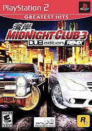 Midnight Club 3: DUB Edition Remix - PS2 - Used
