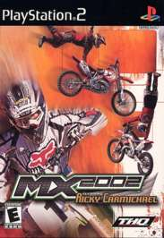 MX 2002 Featuring Ricky Carmichael - PS2 - Used
