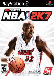 NBA 2K7 - PS2 - Used