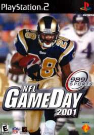 NFL GameDay 2001 - PS2 - Used