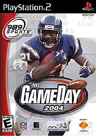 NFL GameDay 2004 - PS2 - Used