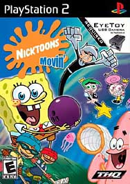 Nicktoons Movin' - PS2 - Used