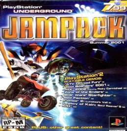 PlayStation Underground Jampack: Summer 2001 - PS2 - Used