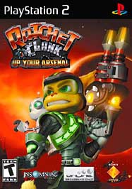 Ratchet & Clank: Up Your Arsenal - PS2 - Used