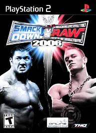 WWE SmackDown! vs. RAW 2006 - PS2 - Used