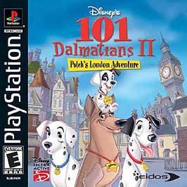 101 Dalmatians II: Patch's London Adventure - PlayStation - Used