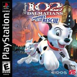 102 Dalmatians: Puppies to the Rescue - PlayStation - Used