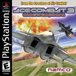 Ace Combat 3: Electrosphere - PlayStation - Used
