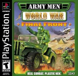 Army Men: World War Final Front - PlayStation - Used