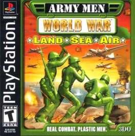 Army Men: World War Land, Sea, Air - PlayStation - Used