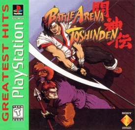 Battle Arena Toshinden - PlayStation - Used