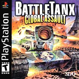 BattleTanx: Global Assault - PlayStation - Used