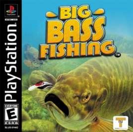 Big Bass Fishing - PlayStation - Used