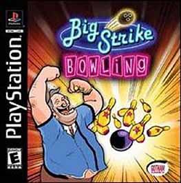 Big Strike Bowling - PlayStation - Used
