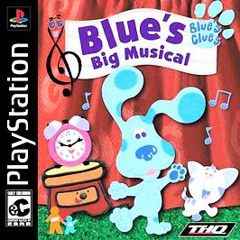 Blue's Clues: Blue's Big Musical - PlayStation - Used