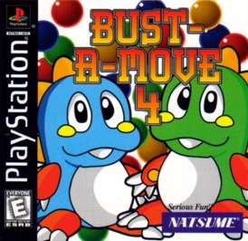 Bust-A-Move 4 - PlayStation - Used