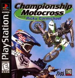 Championship Motocross Featuring Ricky Carmichael - PlayStation - Used