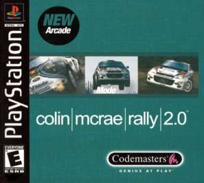 Colin McRae Rally 2.0 - PlayStation - Used