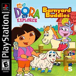 Dora the Explorer: Barnyard Buddies - PlayStation - Used