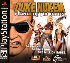 Duke Nukem: Land of the Babes - PlayStation - Used