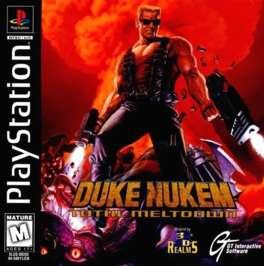 Duke Nukem: Total Meltdown - PlayStation - Used