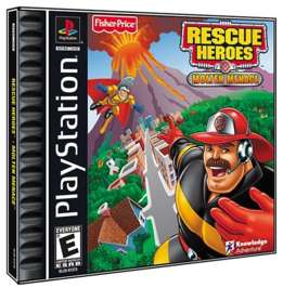 Fisher-Price Rescue Heroes: Molten Menace - PlayStation - Used
