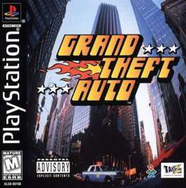 Grand Theft Auto - PlayStation - Used