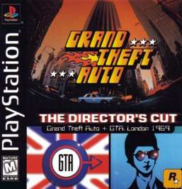 Grand Theft Auto: Director's Cut - PlayStation - Used