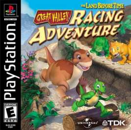 Land Before Time: Great Valley Racing Adventure - PlayStation - Used
