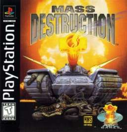 Mass Destruction - PlayStation - Used
