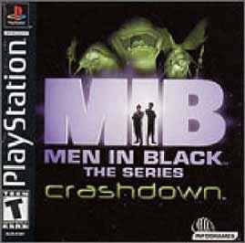 Men in Black -- The Series: Crashdown - PlayStation - Used