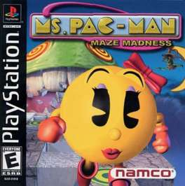 Ms. Pac-Man Maze Madness - PlayStation - Used