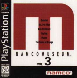 Namco Museum Vol. 3 - PlayStation - Used