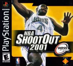 NBA ShootOut 2001 - PlayStation - Used
