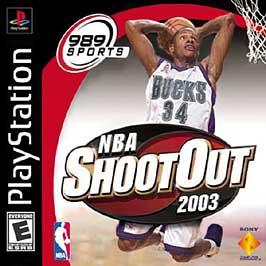 NBA ShootOut 2003 - PlayStation - Used