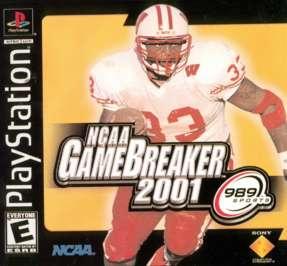 NCAA GameBreaker 2001 - PlayStation - Used