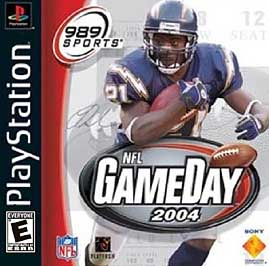 NFL GameDay 2004 - PlayStation - Used